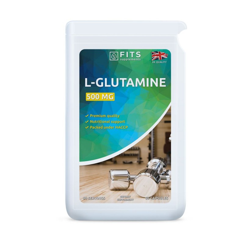 FITS L-Glutamiin 500 mg kapslid N90