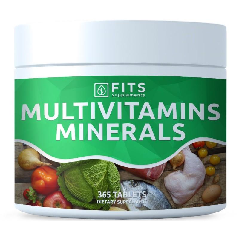 FITS Multivitamiinide ja mineraalainete kompleks tabletid N365
