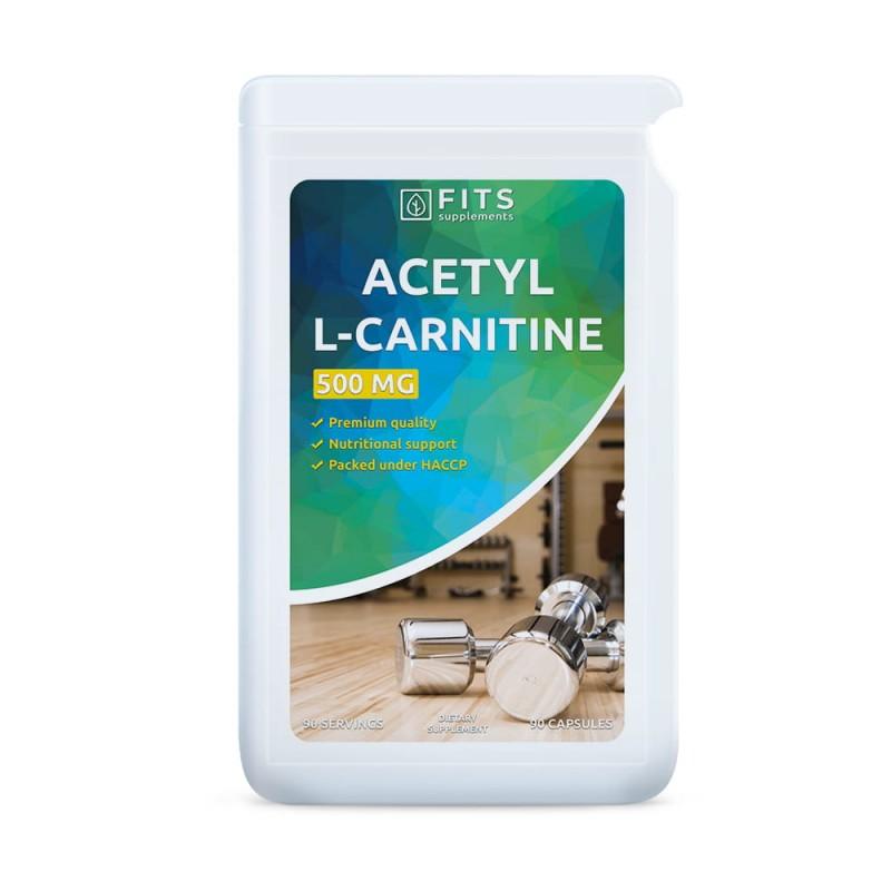 FITS Atsetüül-L-Karnitiin 500 mg tabletid N90