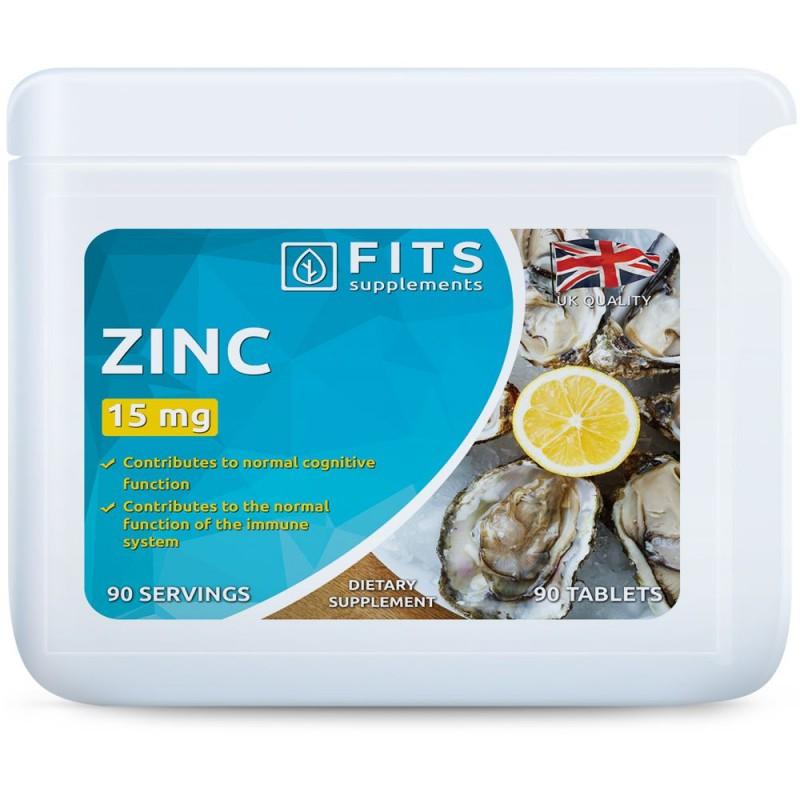 FITS Tsink 15 mg tabletid N90