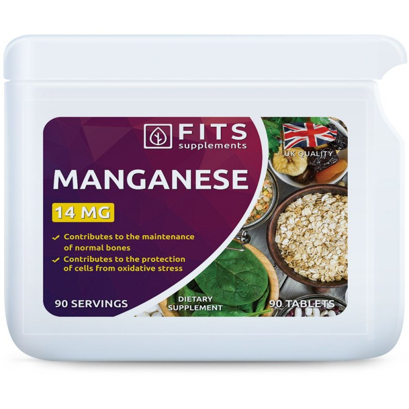 FITS Mangaan 14 mg tabletid N90
