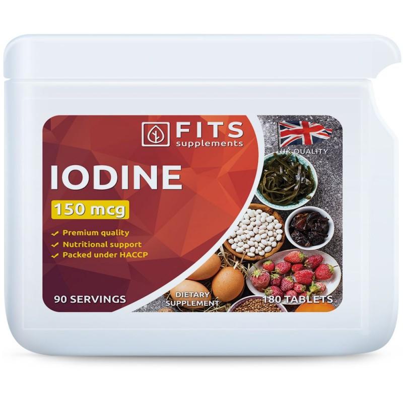 FITS Jood 150 mcg tabletid N180
