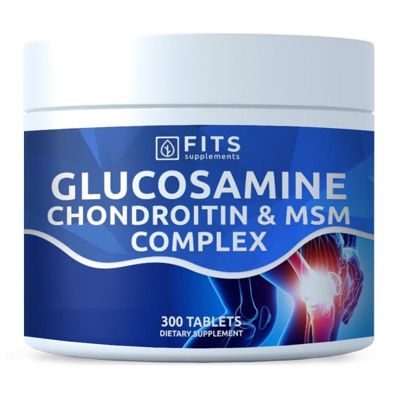 FITS Glükoosamiin, Kondroitiin ja MSM tabletid N300