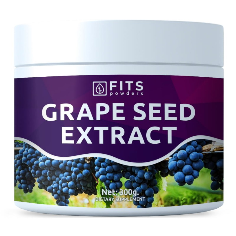 FITS OPC Viinamarjaseemne ekstrakt 300 g pulber