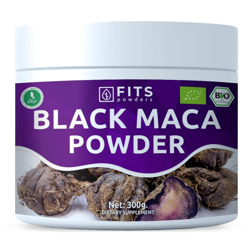 FITS Mahe Must Maca 300 g pulber