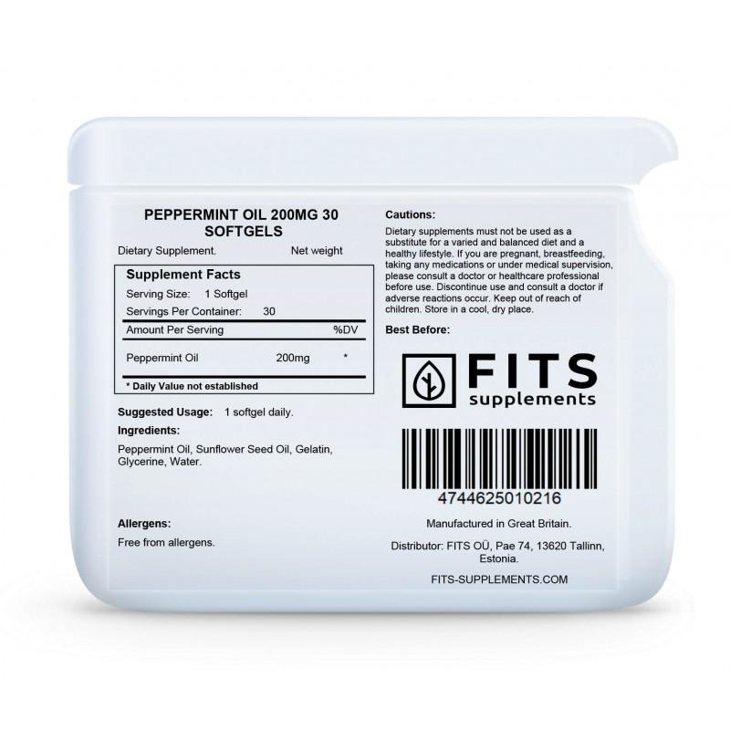 Piparmündiõli 50 mg kapslid