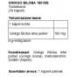 Ginkgo Biloba 180 mg kapslid - 1
