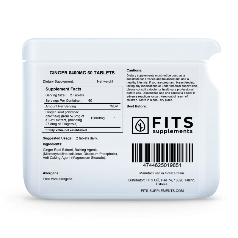 FITS Ingver 6400 mg tabletid foto