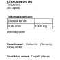 Kurkumiin 500 mg kapslid - 2