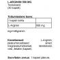 L-Arginiin 500 mg kapslid - 1