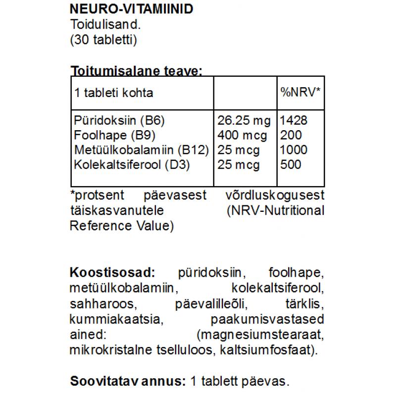 FITS Neuro-vitamiinid foto