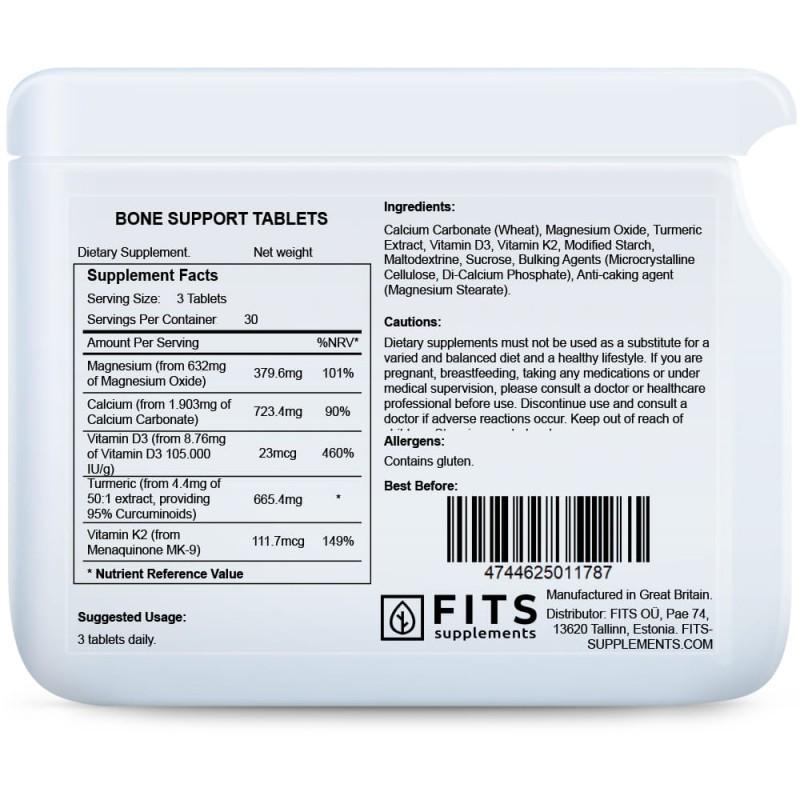 Bone Support kompleks tabletid Kaltsium foto