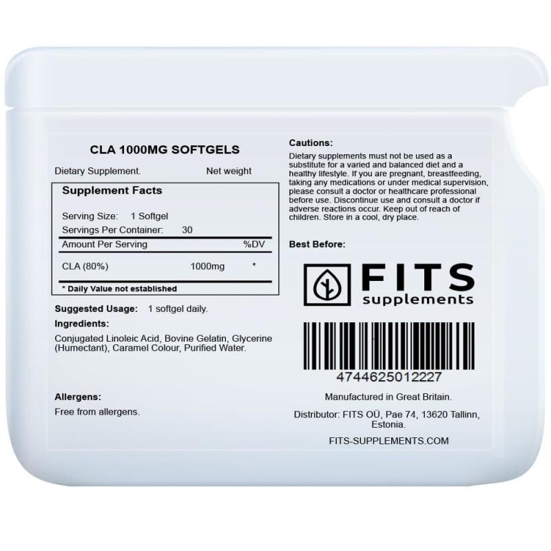 CLA linoolhappe 1500 mg kapslid CLA Konjugeeritud linoolhape foto