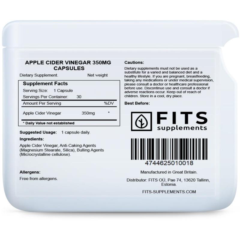 FITS Õunaäädika 350 mg kapslid foto