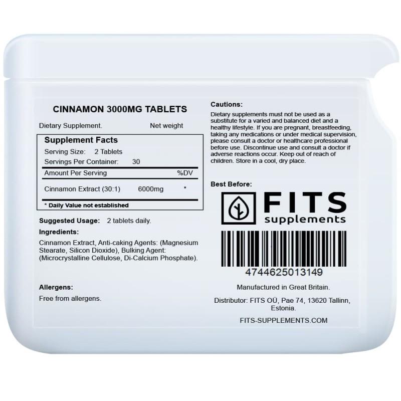 Kaneel 2000 mg tabletid Ravimtaimed ja ekstraktid foto