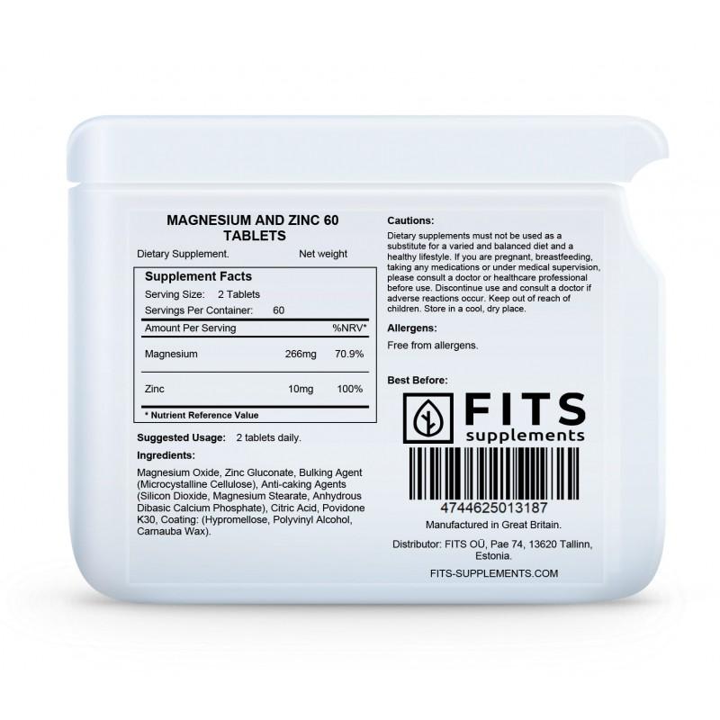 FITS Magneesium-Tsink tabletid foto