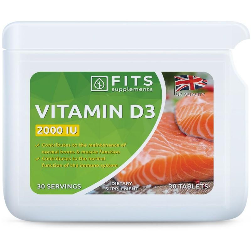 FITS D3-Vitamiin 50 mcg (2000iu) õlikapslid