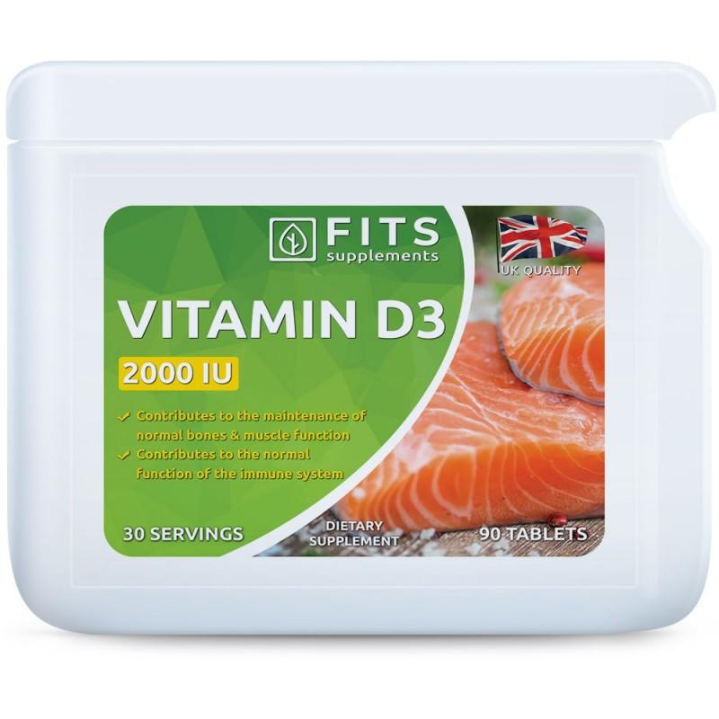 FITS D3-Vitamiin 50 mcg (2000iu) õlikapslid N90