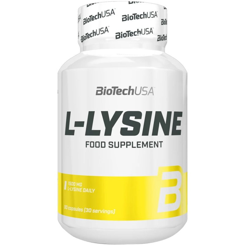 Biotech USA L-Lysine 90 caps