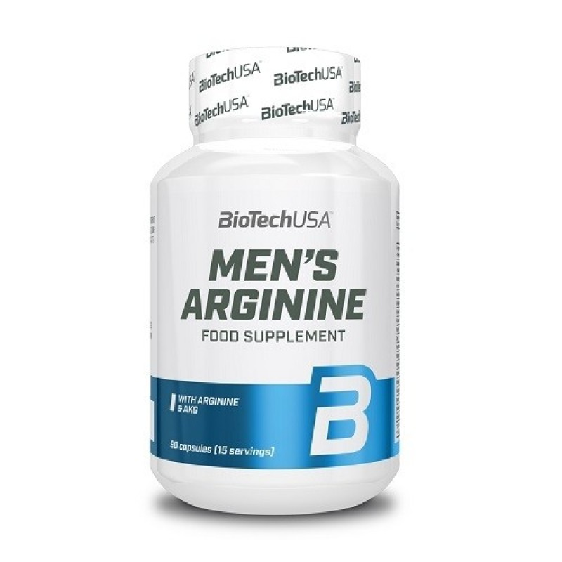 Biotech USA Mens Arginine 90 tabs