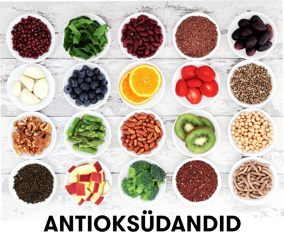 antioksüdandid pilt