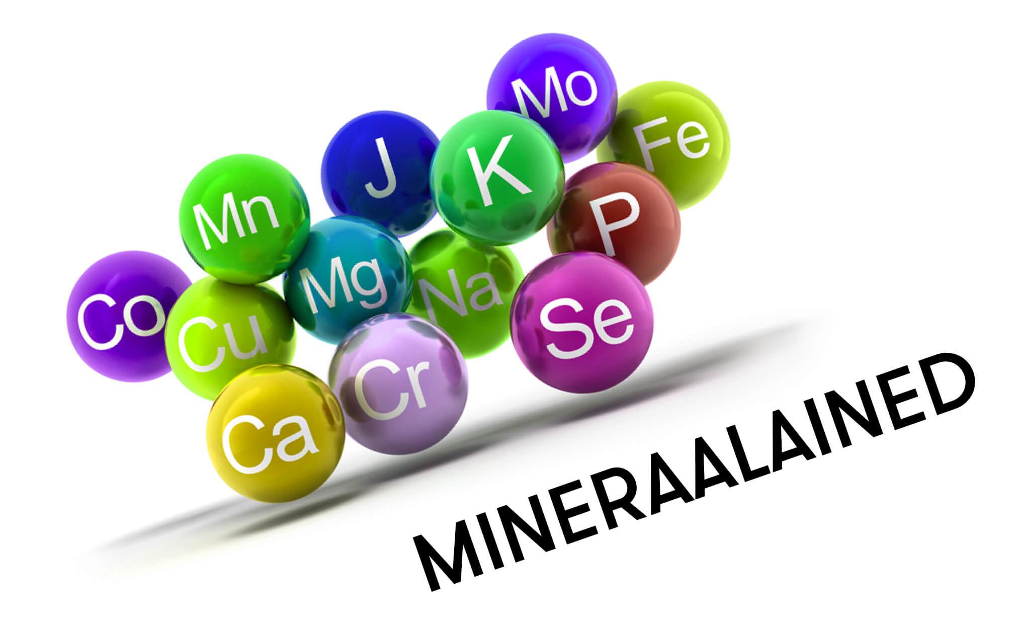 mineraalained pilt