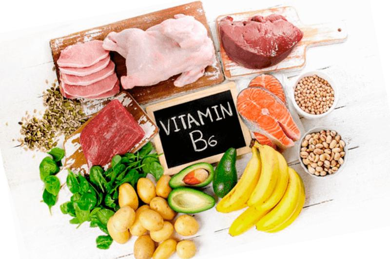 b6 vitamiin pilt